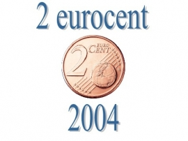 Portugal 2 eurocent 2004