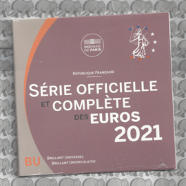 Frankrijk BU set 2021