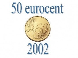 Luxemburg 50 eurocent 2002