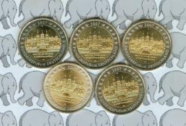 """Duitsland 2 euromunt CC 2007 """"Mecklenburg"""" (5 letters)"""