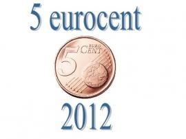 Cyprus 5 eurocent 2012