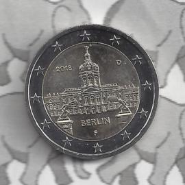 "Duitsland 2 euromunt CC 2018 (19e)""Charlottenburg, Berlijn"" (letter F)"