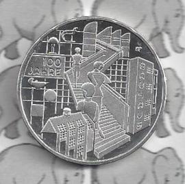 "Duitsland 20 euromunt 2019 (17e) ""100 Jahre Bauhaus"", zilver"
