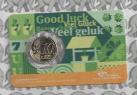 "Nederland 10 eurocent 2021 ""Geluksdubbeltje"""