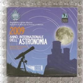 """San Marino BU set 2009 """"Astronomie"""""""
