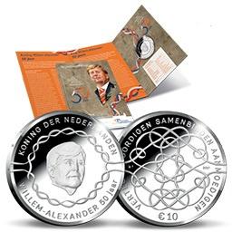 "Nederland 10 euromunt 2017 ""Verjaardags tientje"" (zilver, in blister)"