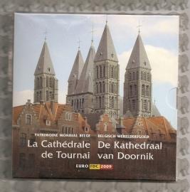 """België BU set 2009 """"De Kathedraal van Doornik"""""""