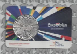 "Nederland coincard 2020 ""Eurovisiesongfestival"" (penning)"