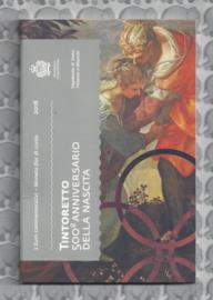 "San Marino 2 euromunt CC 2018 (19e)""500ste geboortedag van Jacopo Tintoretto"" (in blister)"