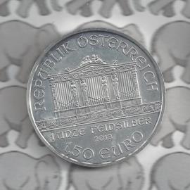 """Oostenrijk 1,5 euromunt 2018 """"Wiener Philharmoniker"""""""