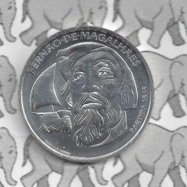 "Portugal 7,5 euromunt 2019 (9e) ""500 jaar vertrek van Ferdinand Magellan (1519)"""
