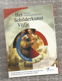 "Nederland 5 euromunt 2011 ""Schilderkunst vijfje"" (zilver, proof in blister)"