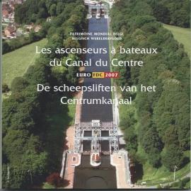 """Belgié BU set 2007 """"de scheepsliften van het Centrumkanaal"""""""
