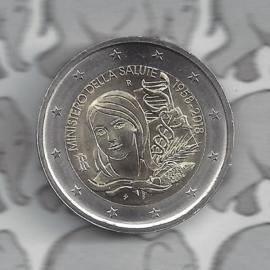 """Italië 2 euromunt CC 2018 """"60ste jaar oprichting van het ministerie van gezondheid"""""""