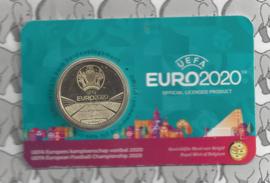 "België 2,5 euromunt 2021 ""UEFA EURO 2021"" in coincard Nederlandse versie"