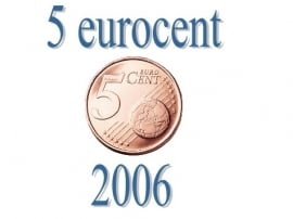 Luxemburg 5 eurocent 2006