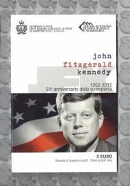 "San Marino 5 euromunt 2013 ""John F. Kennedy"" (zilver)"