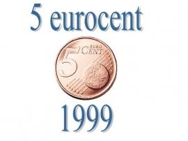 Frankrijk 5 eurocent 1999