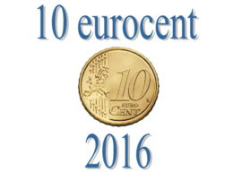 Luxemburg 10 eurocent 2016