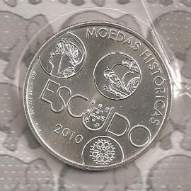 """Portugal 10 euromunt 2010 """"de Escudo"""""""