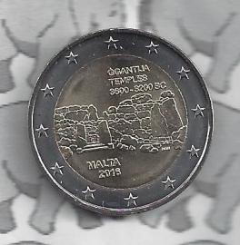 "Malta 2 euromunt CC 2016 ""Megalithische tempels van Ggantija"""