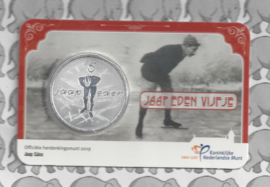 "Nederland 5 euromunt 2019 (44e) ""Jaap Eden vijfje"" (in coincard)"