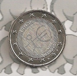 """Luxemburg 2 euromunt CC 2009 """"EMU"""""""