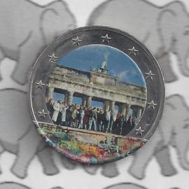 """Duitsland 2 euromunt CC 2014 """"St. Michaeliskirche te Hildesheim, Niedersachsen"""" (kleur 2 x)"""