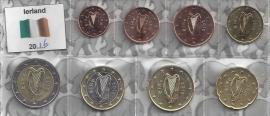 Ierland UNC serie 2016
