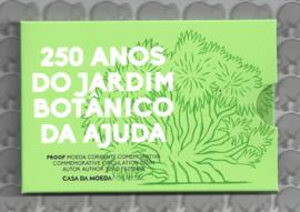 """Portugal 2 euromunt CC 2018 """"250-jarig bestaan van de Botanische Tuinen van Ajuda"""" proof in blister"""