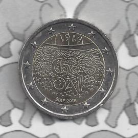 """Ierland 2 euromunt CC 2019 (6e)""""100 Jaar Dáil Éireann (het Ierse Lagerhuis)"""""""