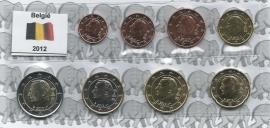 België UNC serie 2012