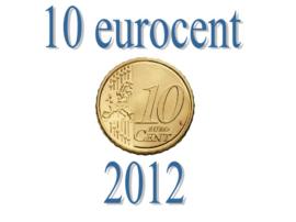 Italië 10 eurocent 2012