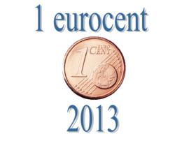 Slovenië 1 eurocent 2013