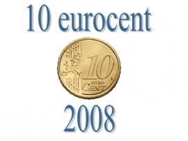 Luxemburg 10 eurocent 2008