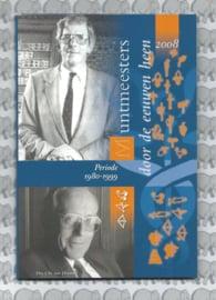 """Nederland BU set 2008 """"Muntmeesters door de eeuwen """" (Coinfair)"""