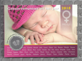 Nederland BU babyset 2018 meisje