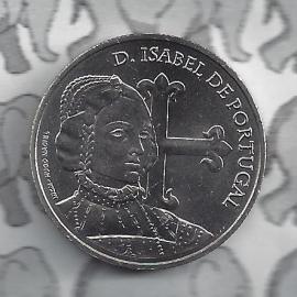 """Portugal 5 euromunt 2015 (16e)""""Isabel"""""""