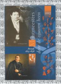 """Nederland BU set 2003 """"Muntmeesters door de eeuwen """" (Coinfair)"""