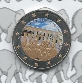 "Malta 2 euromunt CC 2012 ""Majority"" (kleur 1)"