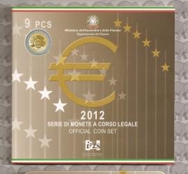 Italië BU set 2012 (10 munten)