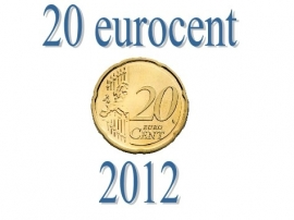 Luxemburg 20 eurocent 2012