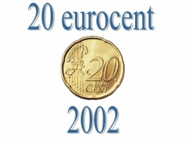 Luxemburg 20 eurocent 2002