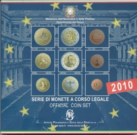 """Italié BU set 2010 """"Ministerie Economie"""""""