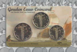 """Nederland coincard 2019 """"De Gouden Eeuw"""""""