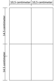 Lukos 4 vakken (voor iedere 4 ringsklapper)