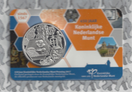 "Nederland coincard 2017 ""450 jaar Koninklijke Nederlandse Munt"" (penning)"