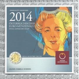Oostenrijk BU set 2014
