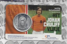 "Nederland 5 euromunt 2017 ""Johan Cruijff vijfje"" (in coincard)"