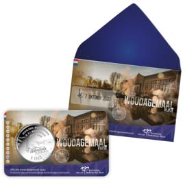 "Nederland 5 euromunt 2020 (46e) ""Woudagemaal vijfje"" (1e dag van uitgifte coincard in envelopje)"